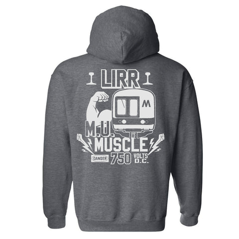 LIRR MU MUSCLE Hooded Sweatshirt
