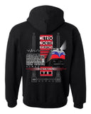 METRO-NORTH RAILROAD FULL COLOR FL9 HOODIE
