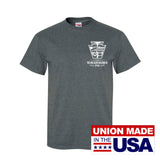 UNION MADE IN USA LIRR DIESEL SERVICE SHORT SLEEVE T-SHIRT