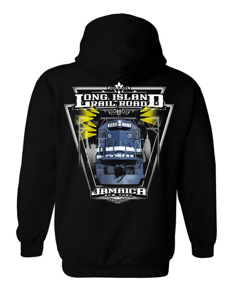 LIRR FULL-COLOR GP38 DIESEL SWEATSHIRT