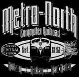 METRO-NORTH RAILROAD RETRO FL9 T-SHIRT