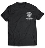 LIRR DIESEL SERVICE Short Sleeve T-Shirt (Black)