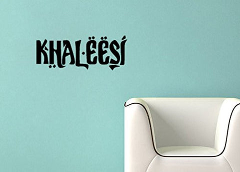 "Game Of Thrones Parody Khaleesi (Princess) Wall Decal Sticker 31.4""w x 12""h"