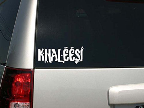 "Game Of Thrones Parody Khaleesi (Princess) Car Or Laptop Decal Sticker 9""w x 3.5""h"