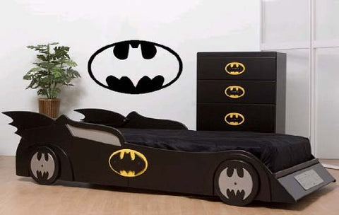 "Batman Wall Decal Sticker 12.5""H x 23""W"