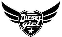Lucky Girl Decals Wall Decor Sticker Quote Lucky Girl Decal Vinyl Wall Decor Diesel Girl Vehicle 10 Inches Wide By 6 Inches High - Lucky Girl Decals
