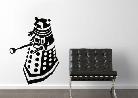 Dr. Who Dalek Wall Decal Parody