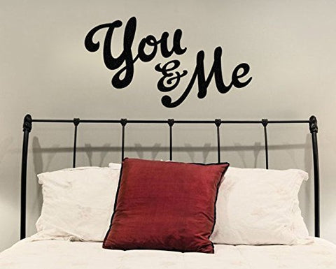 "You And Me Wall Decal Sticker 22""w x 12""h"