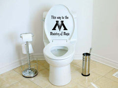 Magic Toilet Decal Sticker
