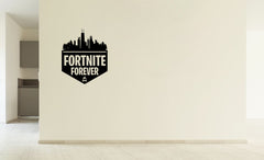 Lucky Girl Decals Vinyl Wall Decor Sticker Fortnite 4 Ever Forever 10 Inches Wide By 12 Inches High For Gamer - Lucky Girl Decals