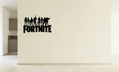 Lucky Girl Decals Vinyl Wall Decor Sticker Fortnite Players Heros Standing On Game Title 18.3 Inches Wide By 12 Inches High For Gamer - Lucky Girl Decals
