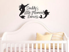 Wall Decal Sticker Daddy's Princess