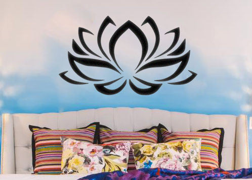 Lotus Boho Bohemian Wall Decal Sticker