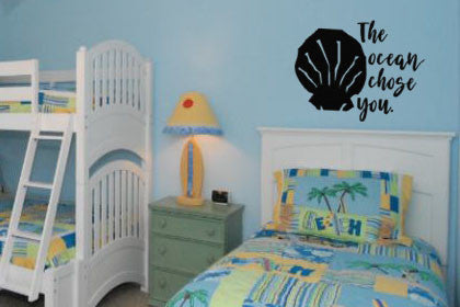 "Moana The Ocean Chose You Wall Decal Sticker 18.2""w x 12""h"