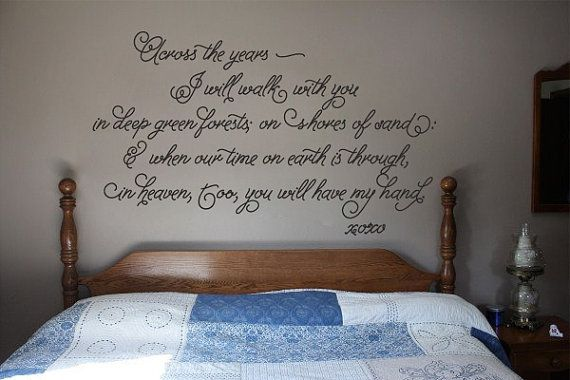 "Across The Years Wall Decal Sticker 21.1""w by 12.5""h"