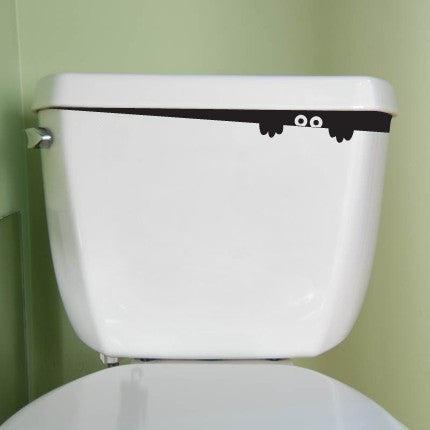 Potty Monster Decal Sticker for Toilet