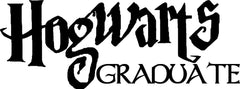 Hogwarts Graduate Harry Potter Inspired Vinyl Decal Sticker