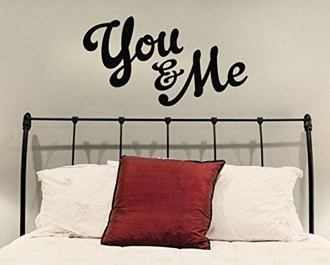 "You And Me Wall Decal Sticker 38.5""W x 21""H"