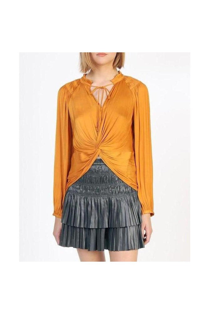 Shimmer Pleated Mini Skirt