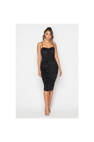 Gabbi Ruched Bodycon Dress