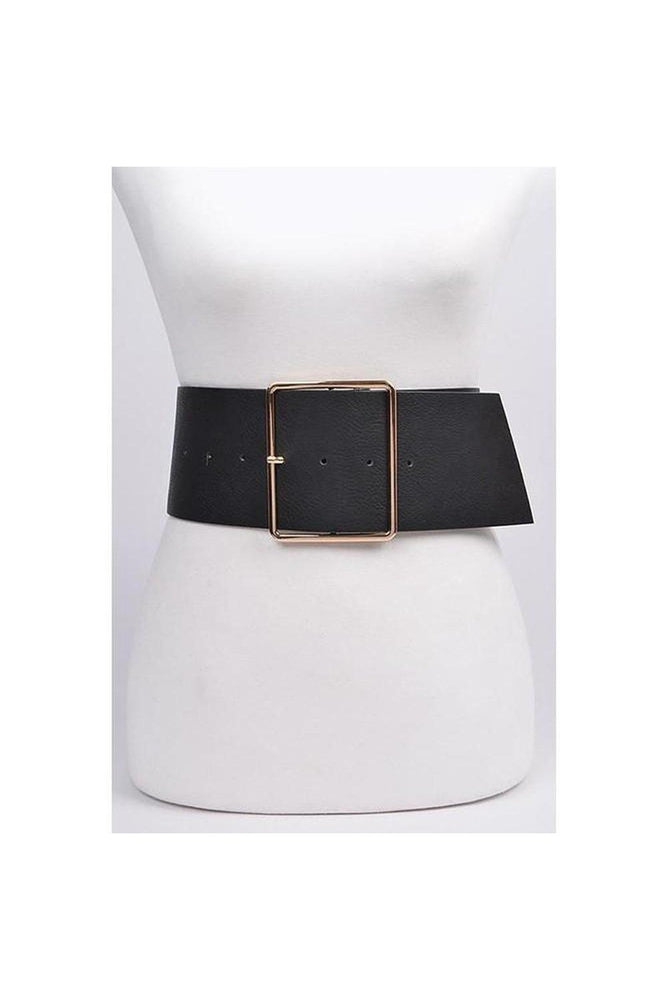Sleek Wide Belt