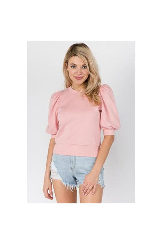 Mandy Puff Sleeve Sweatshirt