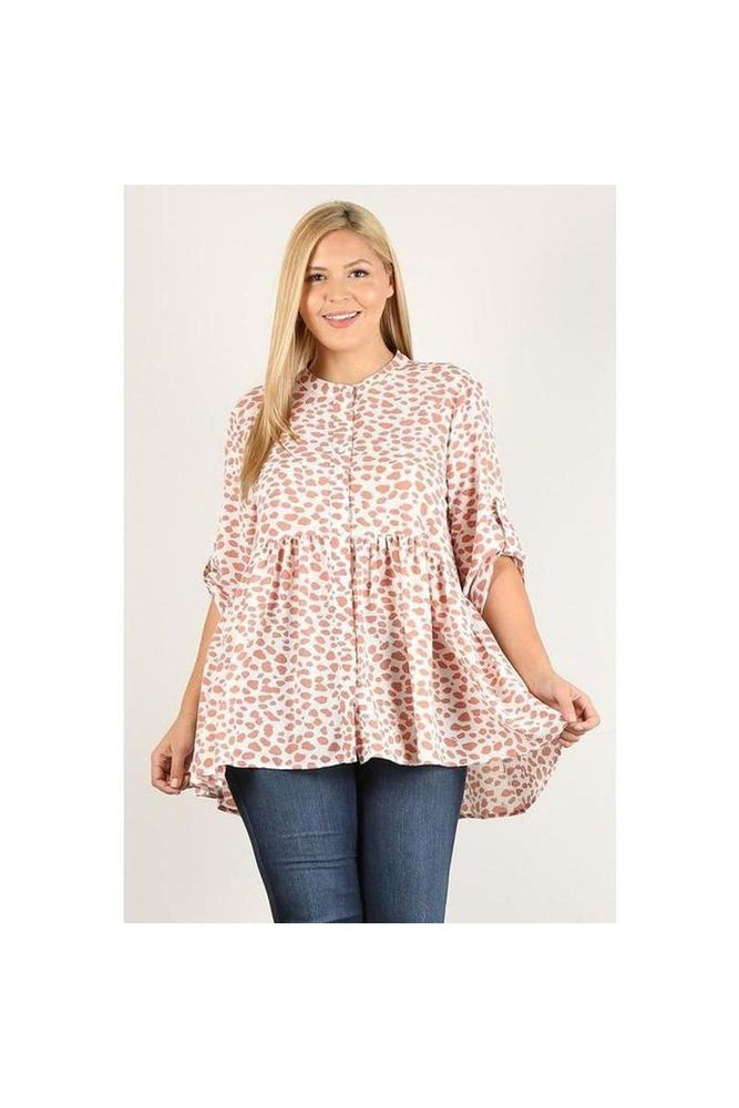 Curvy Spotted Tunic