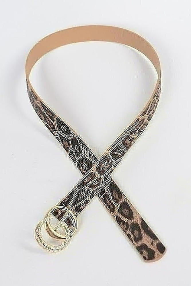Curvy Luxury Leopard Belt