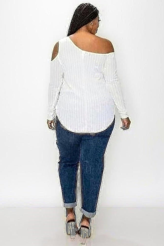 Whitley Cold Shoulder Top