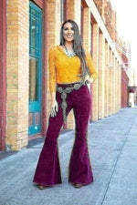 Flare Cord Pants