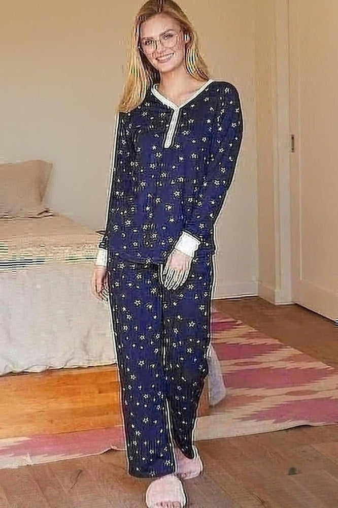Curvy Cozy Pajama Set