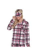 Pretty Plaid Pajama Set