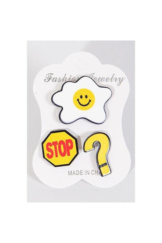 Signs Pin Set