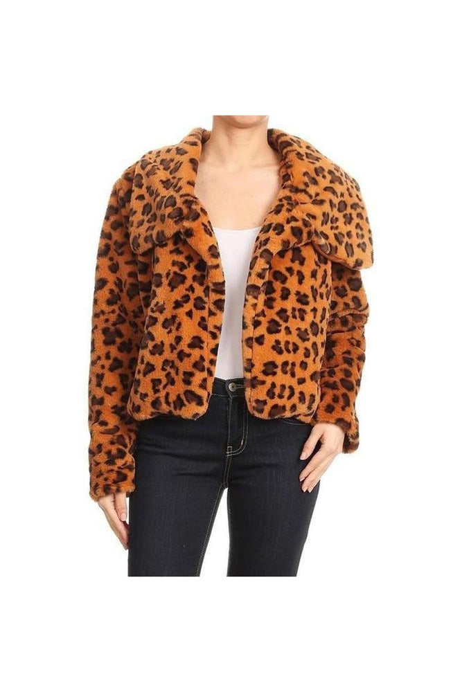Animal Instinct Fur Jacket