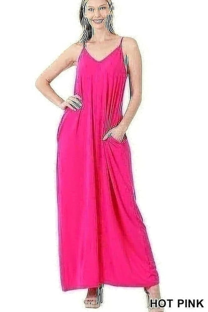 Relaxed Cami Maxi Dress