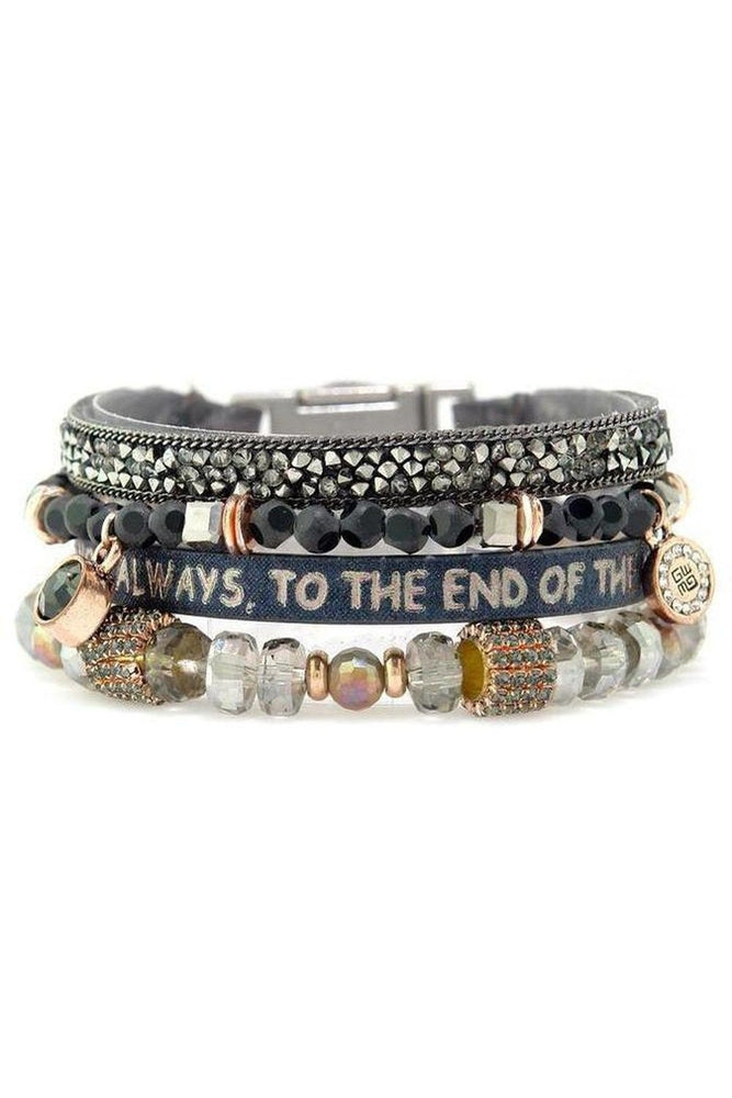 Faithful Scripture Multi Bracelet