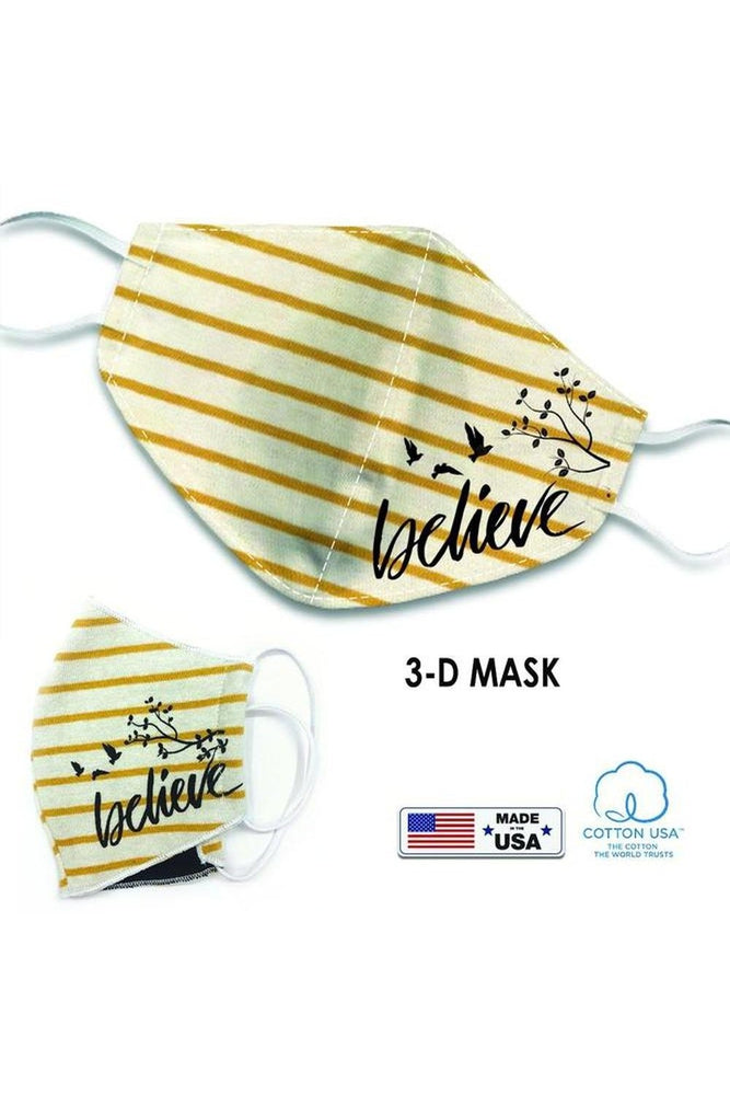 3-D Face Masks