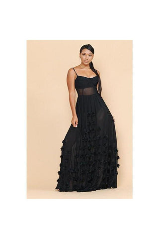 Venus Sheer Maxi Dress