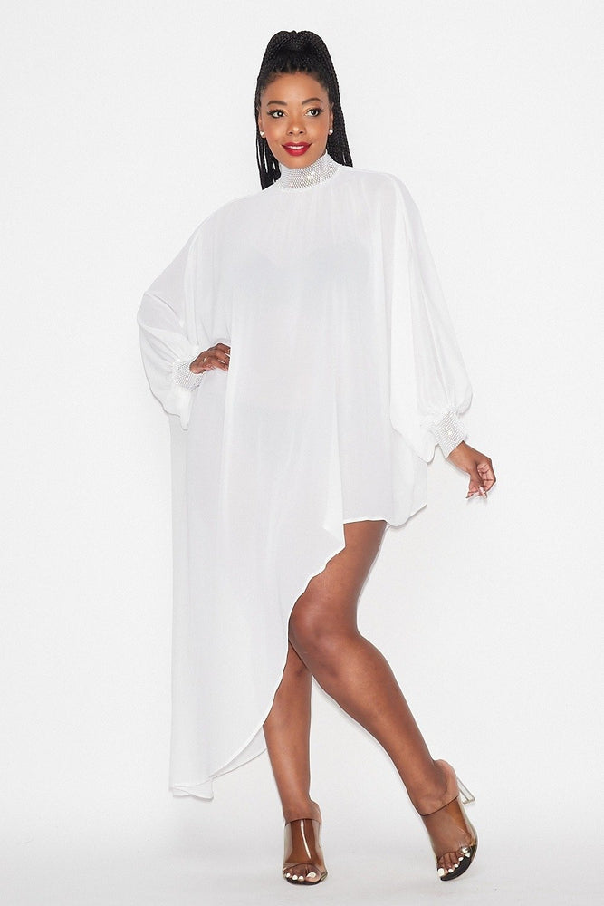 Pre-Order White Style and Grace Tunic Dress