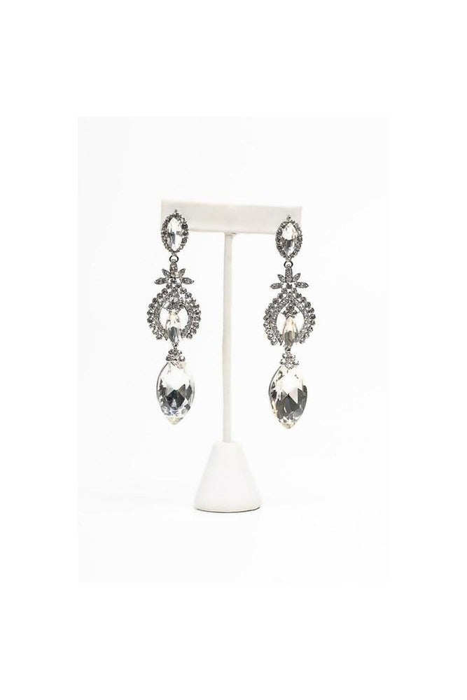 Sparkle Goddess Drop Earring