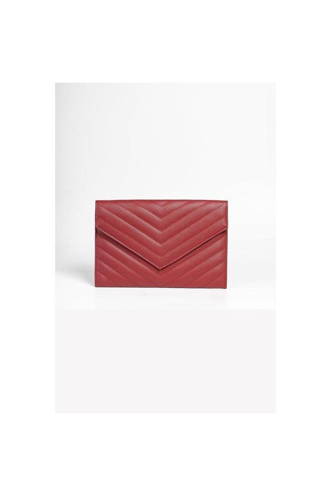 Chevron Stitch Clutch