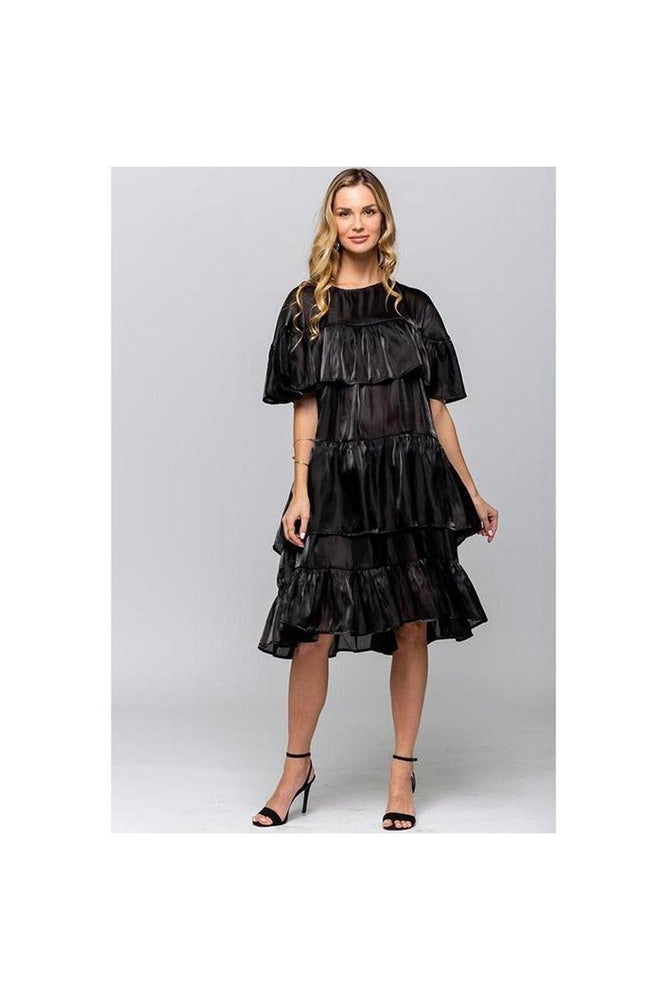 Margo Ruffle Dress