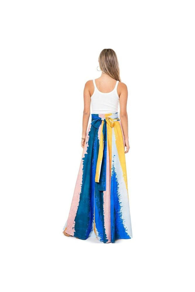 Capri Painted Maxi Skirt