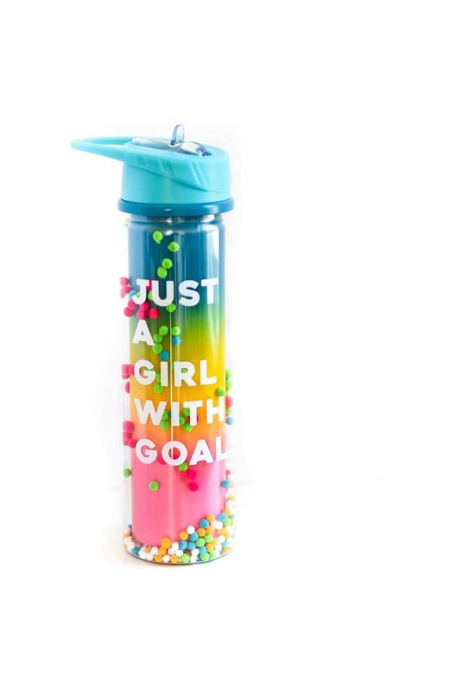 Water Bottle - Just a Girl With Goals
