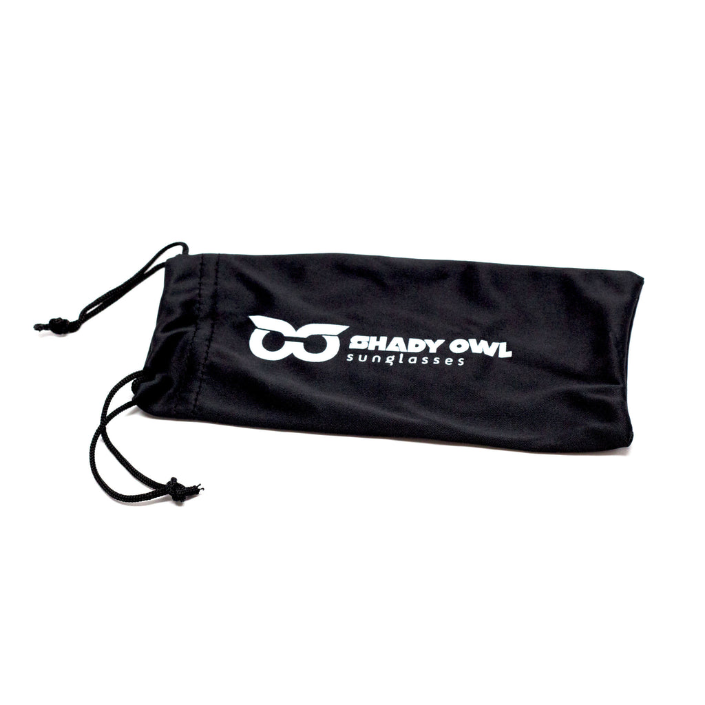 Shady Owl Sunglasses Microfiber Bag