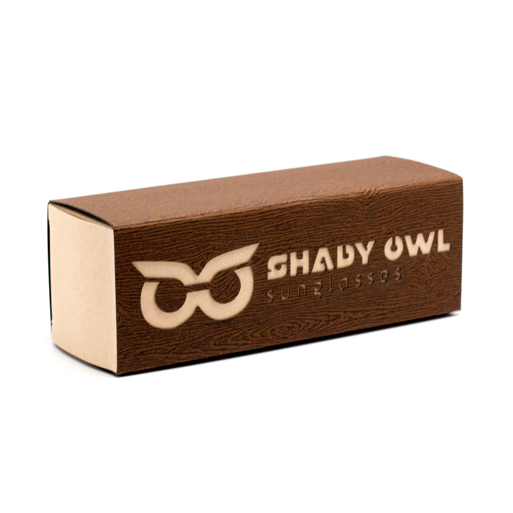 Shady Owl Sunglasses Natural Packaging Box