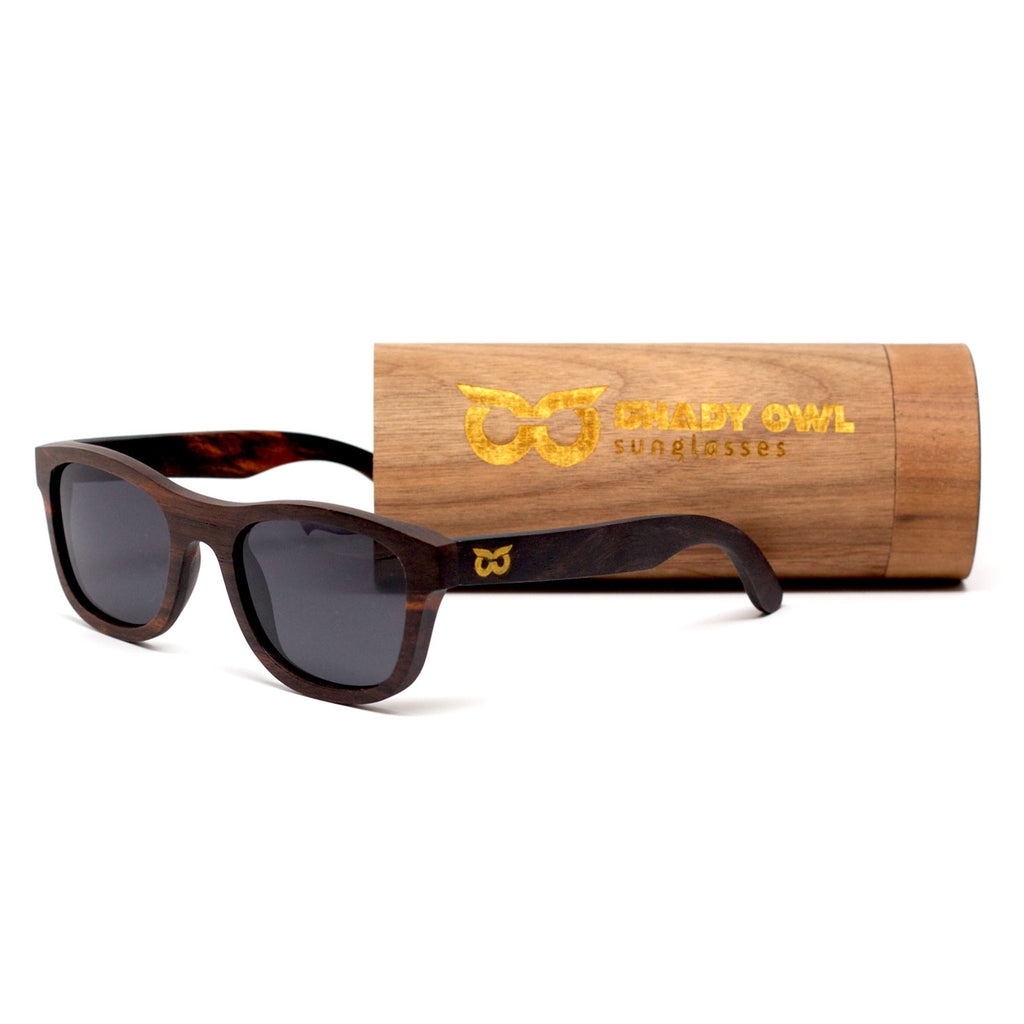 The Original and Case by Shady Owl Sunglasses