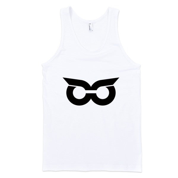 Shady Owl Classic Tank Top White