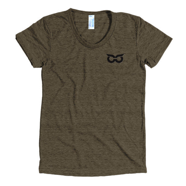 Shady Owl Women's Short Sleeve T-Shirt Tri-Coffee