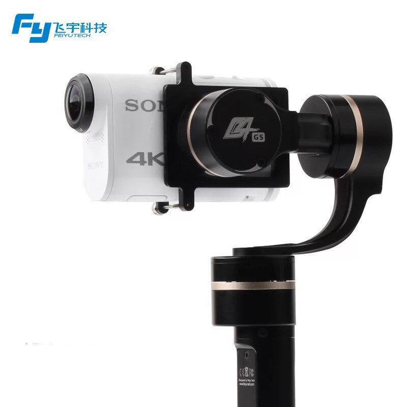 Feiyu Tech G4 GS Gimbal/Stabilizer For Sony Action Cameras - ProPlus